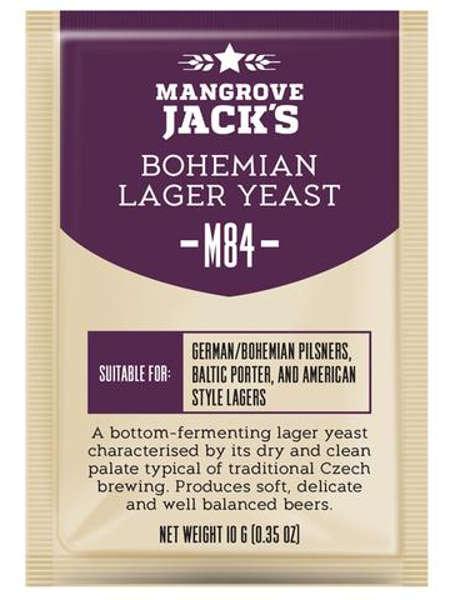 Пивные дрожжи Mangrove Jack's Bohemia Lager M84, 10 г